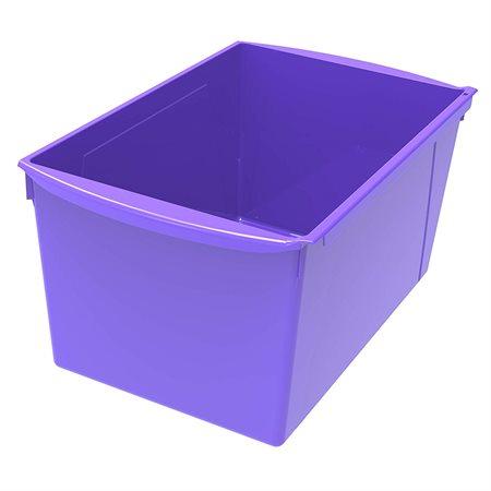 Bac de rangement de grand format Violet