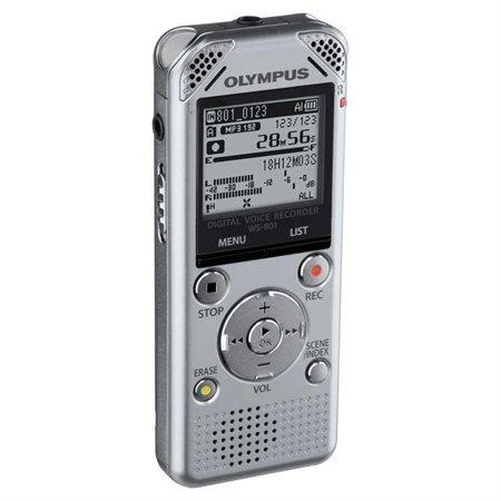 """Enregistreur numérique WS-801"""" Avec carte mémoire SD incluse"""