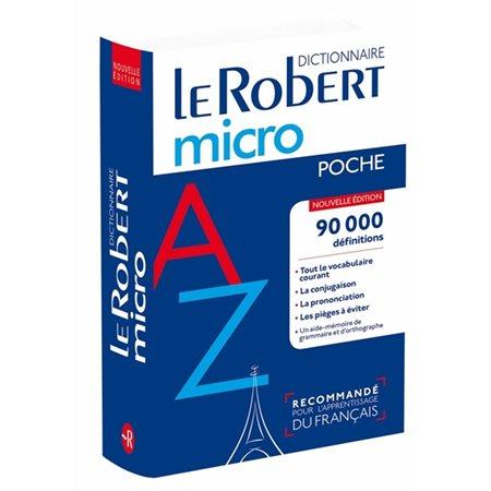 Le Robert micro poche N.E. 2018