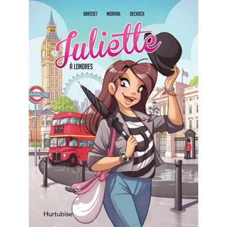 Juliette à Londres - La BD