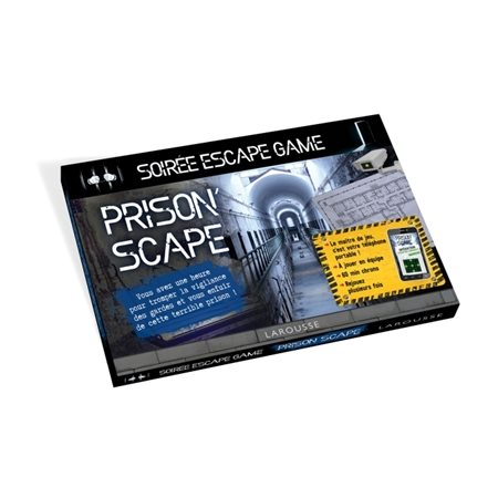 Prison'scape : soirée escape game