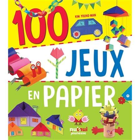 100 jeux en papier