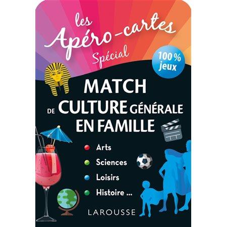Les apéro-cartes spécial match de culture générale en famille