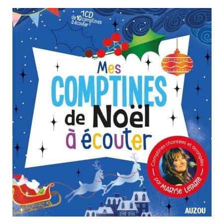 Mes comptines de Noël à écouter (+CD)