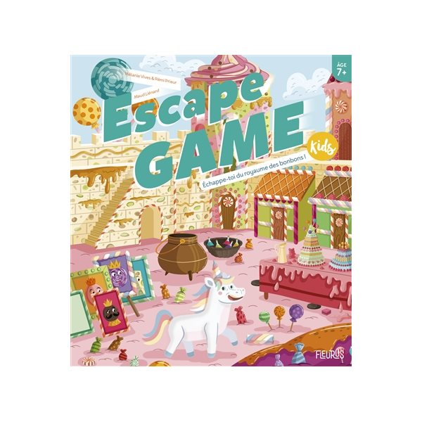 Échappe-toi du royaume des bonbons !, Escape game kids