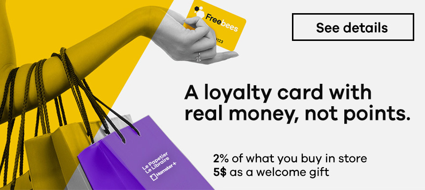 Freebees loyalty card